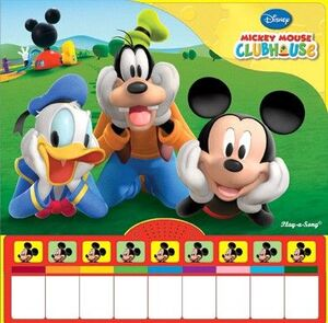 MICKEY MOUSE LIBRO PIANO