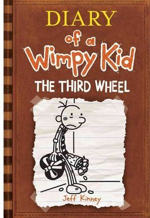 DIARY OF A WIMPY KID 7 THE THRID WHEEL