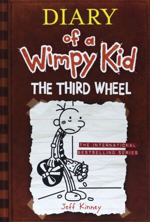 DIARY OF A WIMPY KID 7. THE THIRD WHEEL