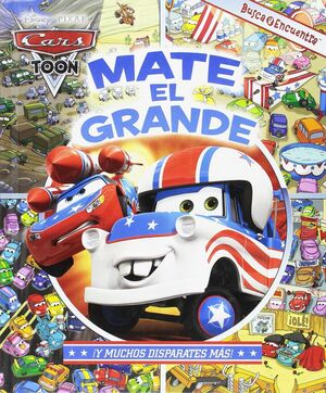 CARS TOON - MATE EL GRANDE LOOK AND FIND CASCADE