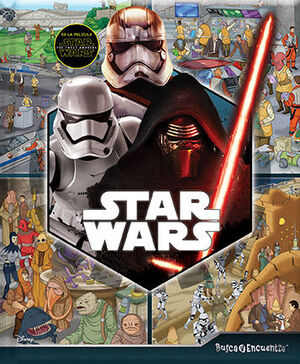 BUSCA Y ENCUENTRA STAR WARS FORCE AWAKENS