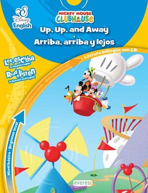DISNEY ENGLISH. UP, UP AND AWAY. ARRIBA, ARRIBA Y LEJOS. NIVEL BÁSICO. BEGINNER
