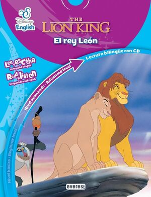 DISNEY ENGLISH. EL REY LEON / THE LION KING. NIVEL AVANZADO