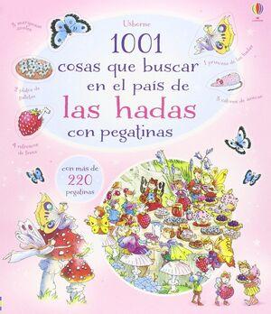 1001 COSAS QUE BUSCAR EN EL PAÍS DE LAS HADAS CON PEGATINAS