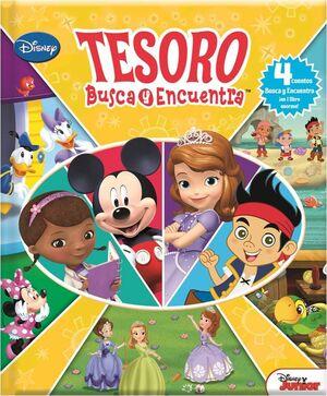 TESORO BUSCA Y ENCUENTRA DISNEY JUNIOR LF BIND