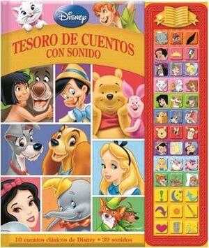 TESORO DE CUENTOS CON SONIDOS DISNEY CLASICOS SD TREASURY