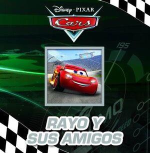 RAYO Y SUS AMIGOS. CUENTOS CARS 123 SBBB