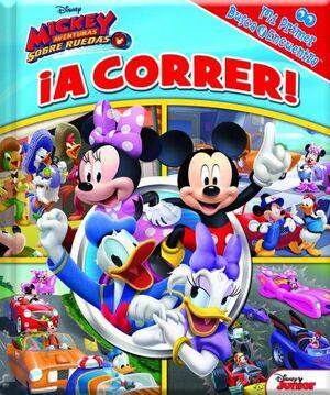 ¡A CORRER! MI PRIMER BUSCA Y ENCUENTRA MICKEY ROADSTER RACER M1LF