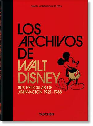 LOS ARCHIVOS DE WALT DISNEY: SUS PELÍCULAS DE ANIMACIÓN. 40TH ANNIVERSARY EDITIO