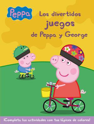 LOS DIVERTIDOS JUEGOS DE PEPPA Y GEORGE (PEPPA PIG. ACTIVIDADES)