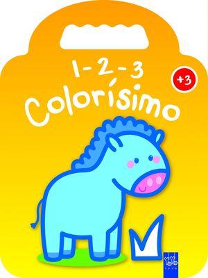 1-2-3 COLORÍSIMO +3 - PONI