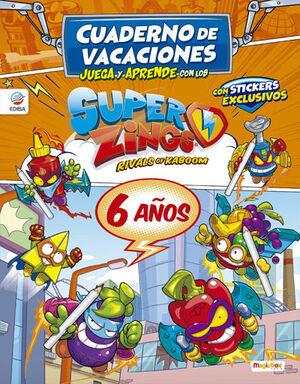 VACACIONES JUEGA Y APRENDE CON LOS SUPERZINGS 6