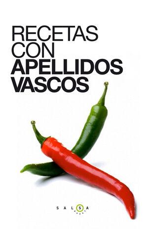 RECETAS CON APELLIDOS VASCOS