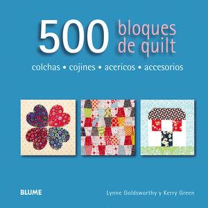 500 BLOQUES DE QUILT