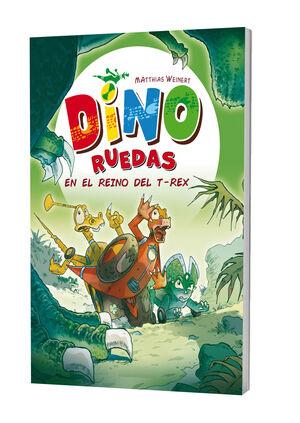DINO RUEDAS 5. EN EL REINO DEL T-REX