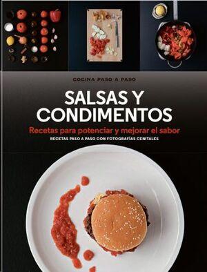SALSAS Y CONDIMENTOS *COCINA PASO A PASO*