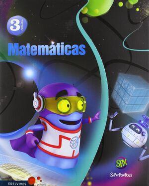 MATEMÁTICAS 3º PRIMARIA + COMIC