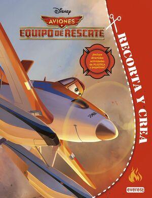 AVIONES. EQUIPO DE RESCATE. RECORTA Y CREA