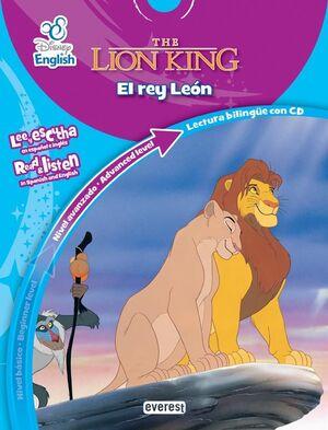 DISNEY ENGLISH. THE LION KING. EL REY LEÓN. NIVEL AVANZADO. ADVANCED LEVEL