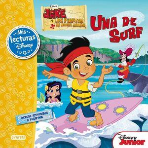 JAKE Y LOS PIRATAS DE NUNCA JAMÁS. UNA DE SURF