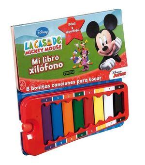 LA CASA DE MICKEY MOUSE. MI LIBRO XILÓFONO