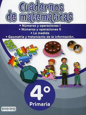 CARPETA DE MATEMÁTICAS. 4º PRIMARIA