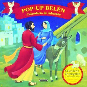 CALENDARIO DE ADVIENTO POP-UP - BELÉN