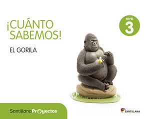 CUANTO SABEMOS NIVEL 3 EL GORILA