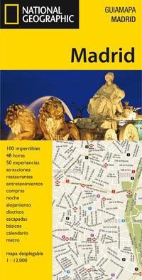 GUIA MAPA DE MADRID