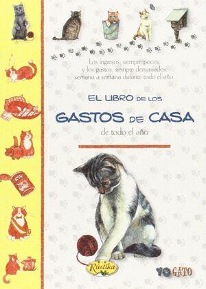 EL LIBRO DE LOS GASTOS DE CASA DE TODO EL AÑO