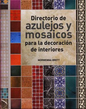 DIRECTORIO DE AZULEJOS Y MOSAICOS