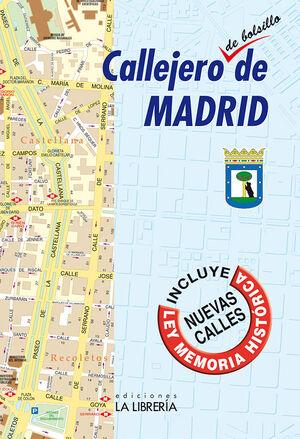 CALLEJERO DE BOLSILLO DE MADRID(2021)