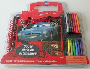 CARS 2. SUPERLIBRO ACTIVIDADES