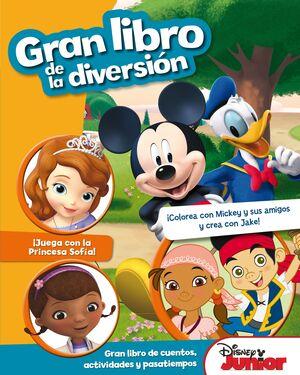 DISNEY JUNIOR. GRAN LIBRO DE LA DIVERSIÓN