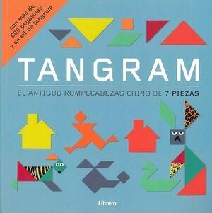 TANGRAM + 600 PEGATINAS Y UN KIT DE TANGRAM